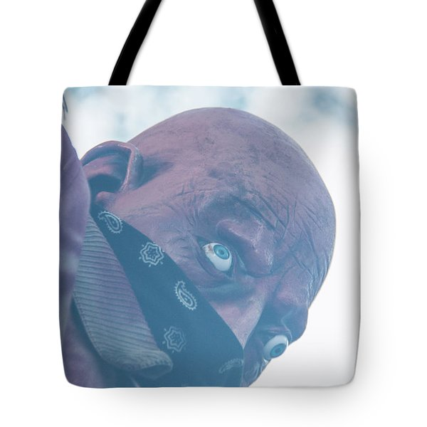 Spooky Bandit Tote Bag