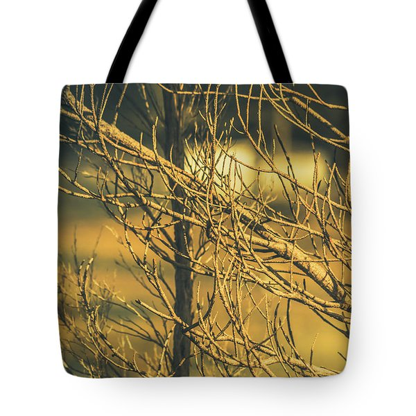 Spooky Country House Obscured By Vegetation  Tote Bag