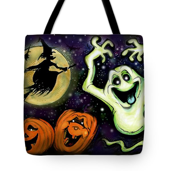 Spooky Tote Bag by Kevin Middleton