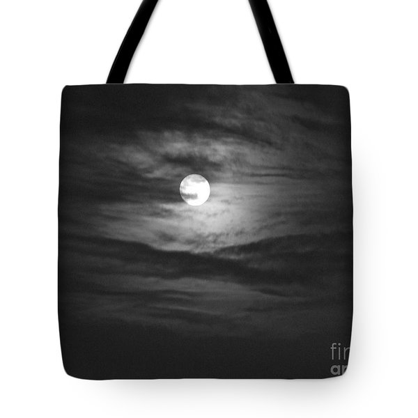 Spooky Moon 2 Tote Bag