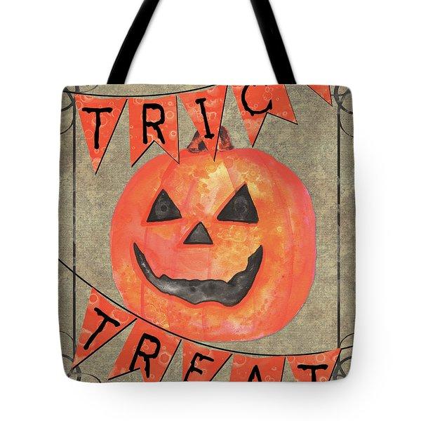 Spooky Pumpkin 1 Tote Bag