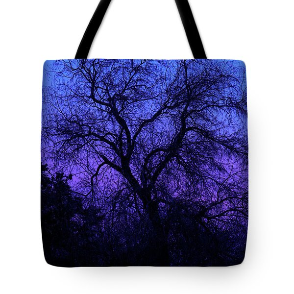 Spooky Tree Tote Bag by Paul Marto