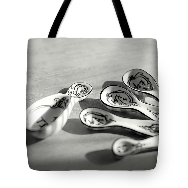 Spoon Family Tote Bag by Aiolos Greek Collections