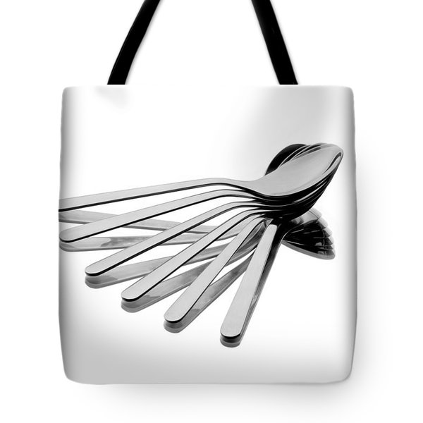 Tote Bag featuring the photograph Spoon Fan by Gert Lavsen