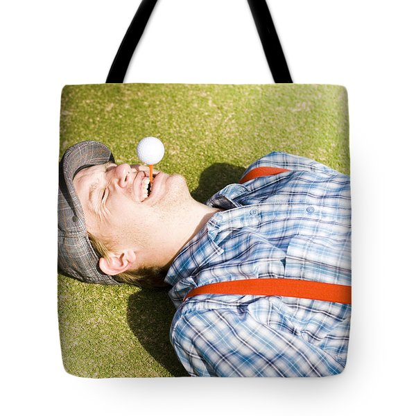 Sports Nut Tote Bag