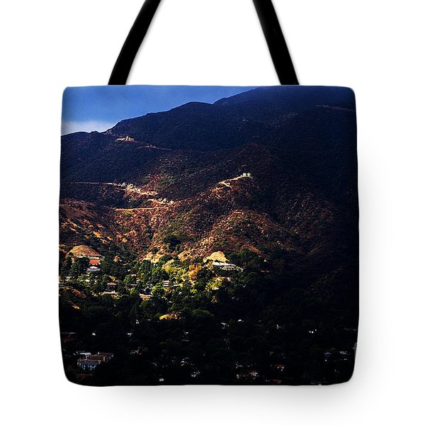 Spotlight From The Heavens Tote Bag
