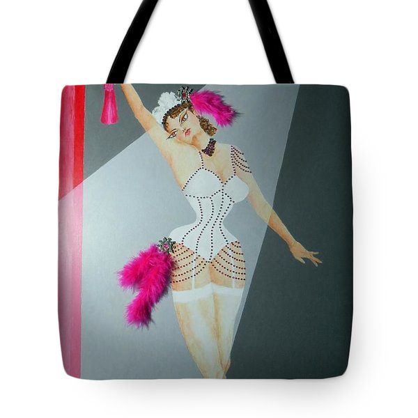 Spotlight On Gypsy -- #5 In Famous Flirts Series Tote Bag