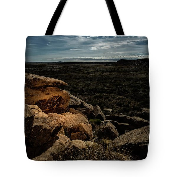 Tote Bag featuring the photograph Spotlight On History by Melany Sarafis
