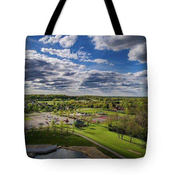 Spotlight On The Park Tote Bag