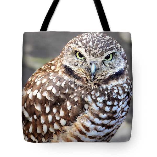 Spots - Burrowing Owl Tote Bag