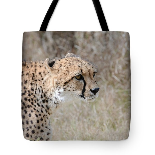 Tote Bag featuring the photograph Spotted Beauty 2 by Fraida Gutovich