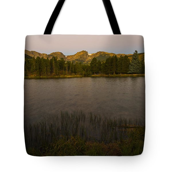 Sprague Lake Tote Bag by Gary Lengyel