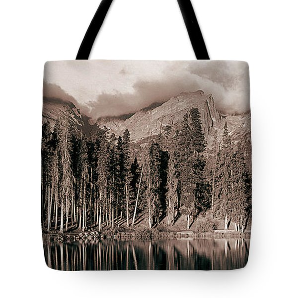 Sprague Lake Morning Tote Bag