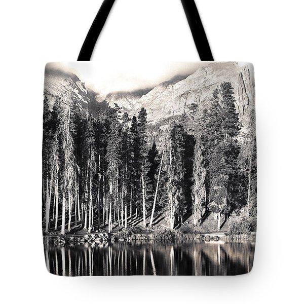 Sprague Lake Tote Bag by Thomas Bomstad