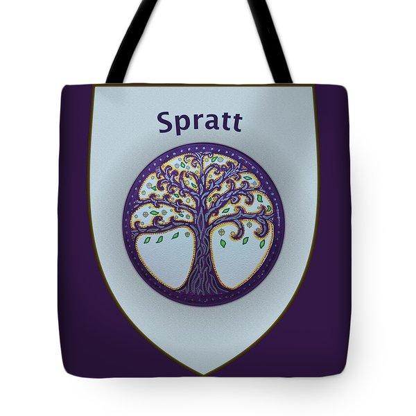 Spratt Family Crest Tote Bag