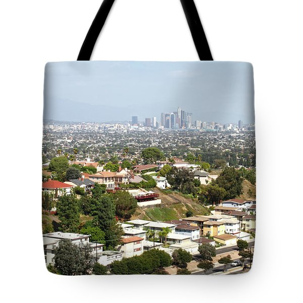 Sprawling Homes To Downtown Los Angeles Tote Bag