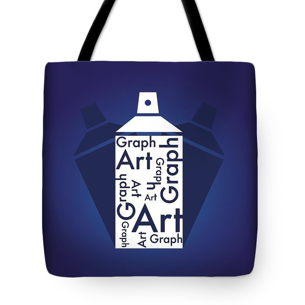 Tote Bag featuring the photograph Spray Art Can by Sheila Mcdonald