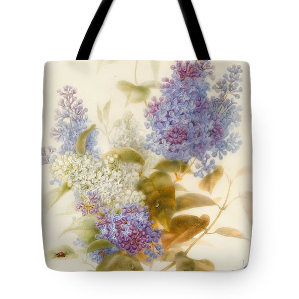 Spray Of Lilac Tote Bag