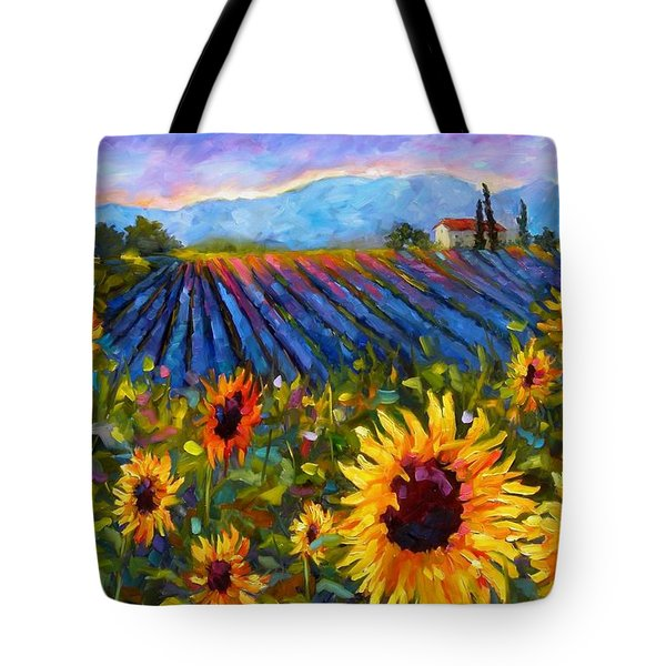 Spread A Little Sunshine Tote Bag by Chris Brandley