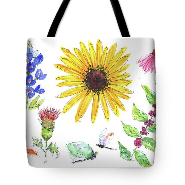 Spring 2017 Medley Watercolor Art By Kmcelwaine Tote Bag