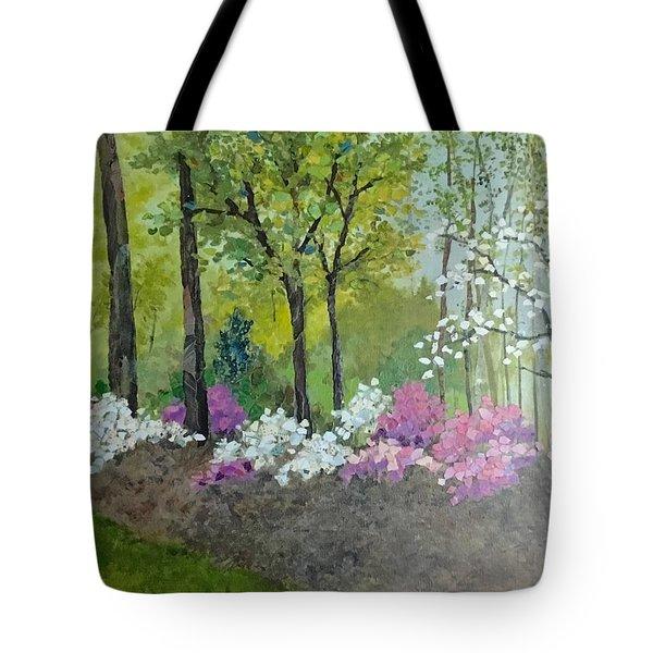 Spring Along Tega Cay Drive Tote Bag