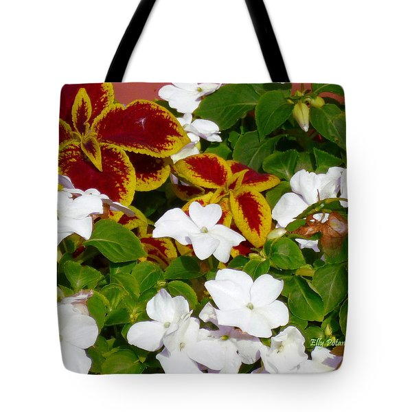 Spring Annuals Tote Bag