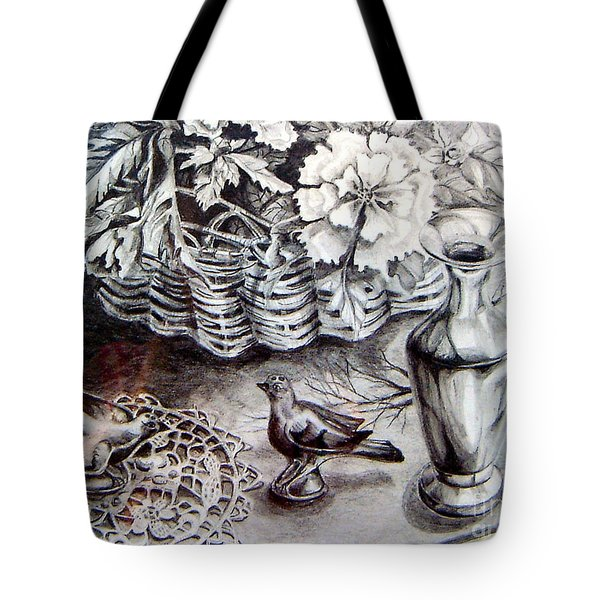 Spring Arrangemnt Tote Bag