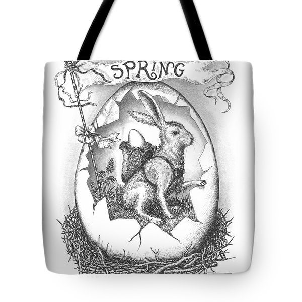 Spring Arrives Tote Bag by Adam Zebediah Joseph