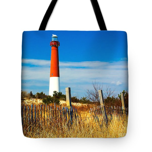 Spring At Barnegat Tote Bag by Nick Zelinsky
