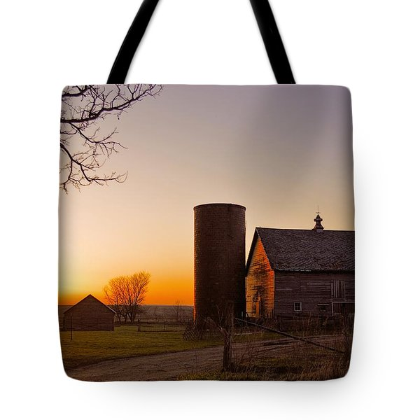 Spring At Birch Barn 2 Tote Bag by Bonfire Photography