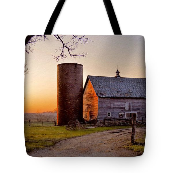 Spring At Birch Barn Tote Bag by Bonfire Photography