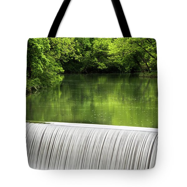Tote Bag featuring the photograph Spring At Buck Creek by Parker Cunningham