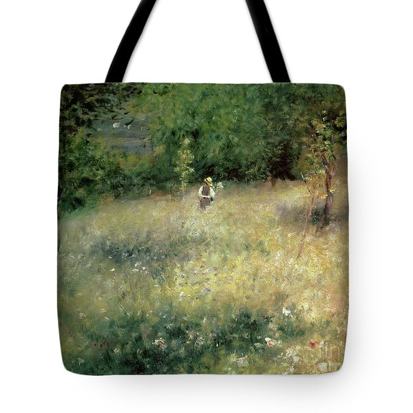 Spring At Chatou Tote Bag by Pierre Auguste Renoir