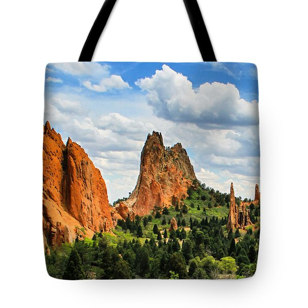 Spring At Garden Of The Gods Tote Bag