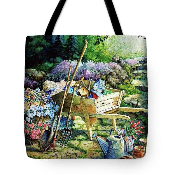 Spring At Last Tote Bag