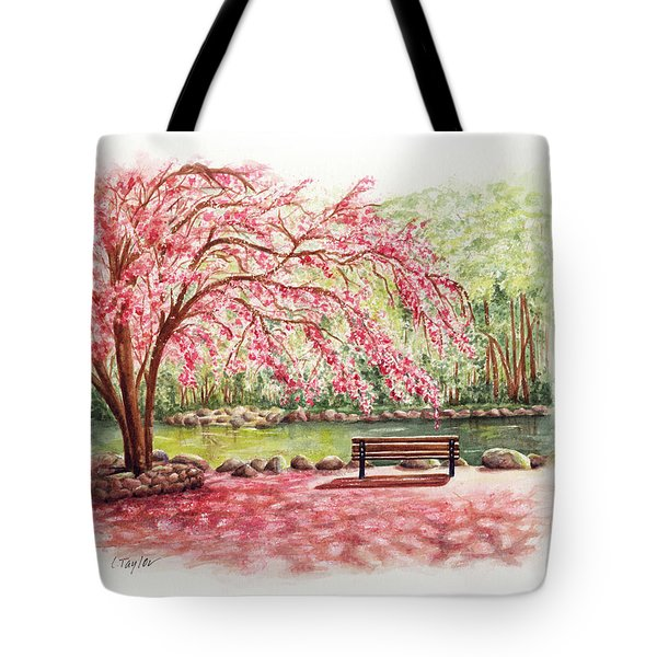 Spring At Lithia Park Tote Bag