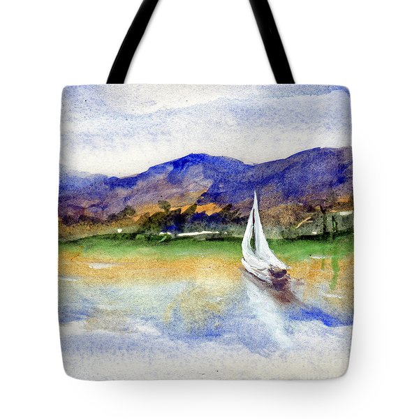 Spring At Our Island Tote Bag by Randy Sprout