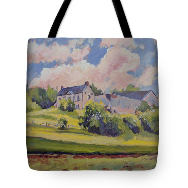 Spring At The Hoeve Zonneberg Maastricht Tote Bag by Nop Briex
