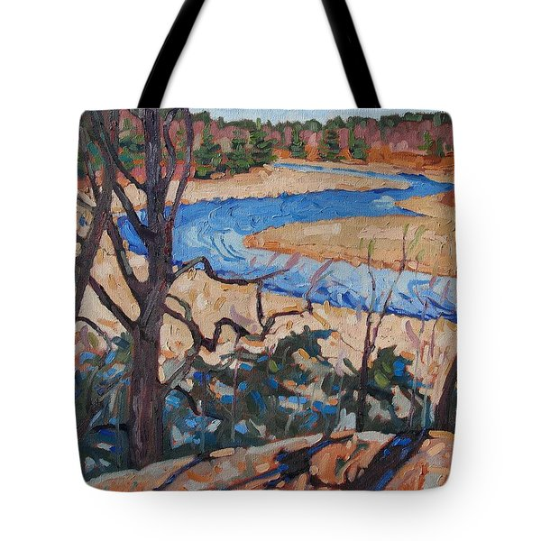 Spring At The Jones Tote Bag by Phil Chadwick
