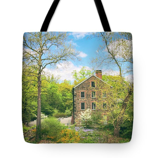 Spring At The Stone Mill  Tote Bag by Jessica Jenney