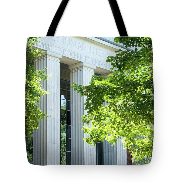 Tote Bag featuring the photograph Spring At Uga by Parker Cunningham