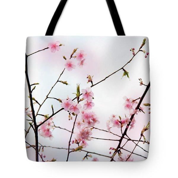 Spring Awakening Tote Bag by Eena Bo