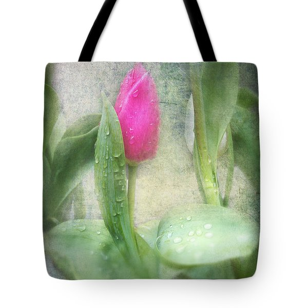 Spring Bath Tote Bag