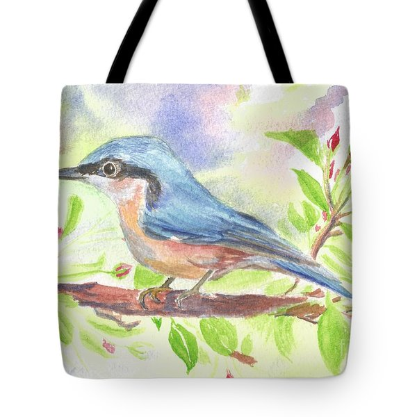 Spring Bird  Tote Bag by Isabel Proffit