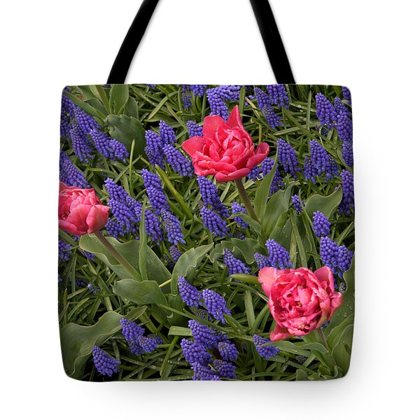 Tote Bag featuring the photograph Spring Blooms by Phyllis Peterson