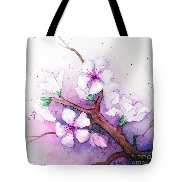 Spring Blooms Tote Bag by Rebecca Davis