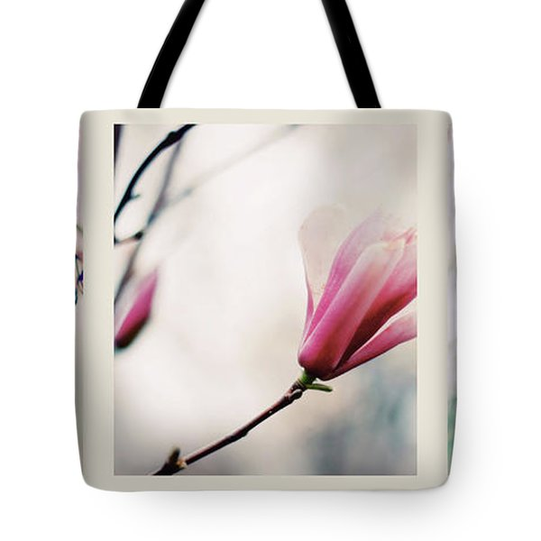 Tote Bag featuring the photograph Spring Blossom Triptych by Jessica Jenney