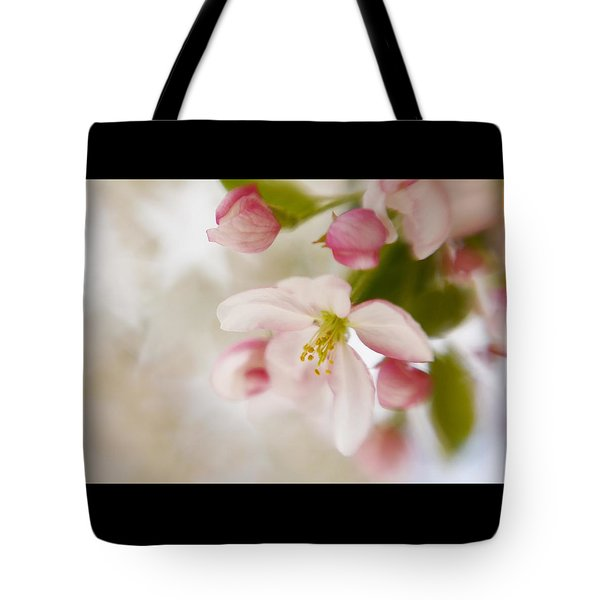 Tote Bag featuring the photograph Spring Blossom Whisper by Diane Alexander