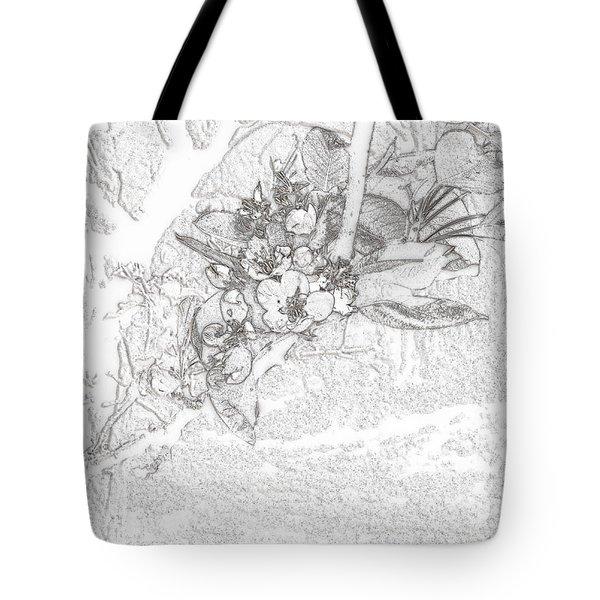Spring Blossums Tote Bag
