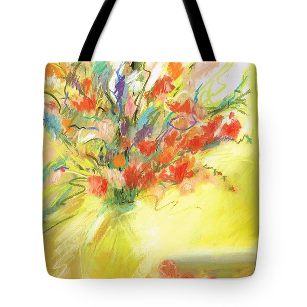 Spring Bouquet Tote Bag by Frances Marino